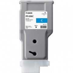 Canon 5304B001AA (PFI-206C) Ink Cartridge, Cyan, OEM