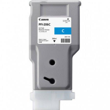 Canon 5304B001AA (PFI-206C) Ink Cartridge, Cyan, OEM