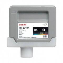 Canon PFI-301BK (1486B001AA) Ink Cartridge, Black, OEM
