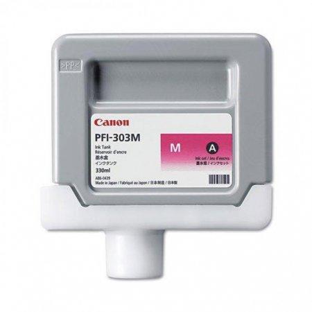 Canon 2960B001AA (PFI-303M) Ink Cartridge, Dye Magenta, OEM