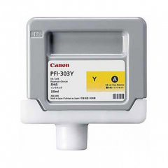 Canon 2961B001AA (PFI-303Y) Ink Cartridge, Dye Yellow, OEM