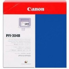 Canon PFI-304B Ink Cartridge, Blue, OEM