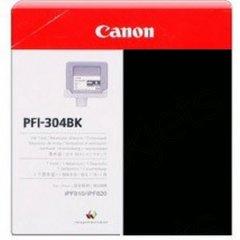 Canon PFI-304BK Ink Cartridge, Black, OEM