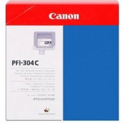 Canon PFI-304C Ink Cartridge, Cyan, OEM