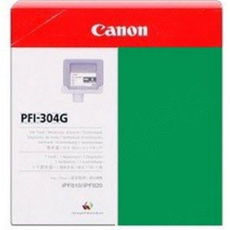 Canon PFI-304G Ink Cartridge, Green, OEM