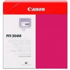 Canon PFI-304M Ink Cartridge, Magenta, OEM