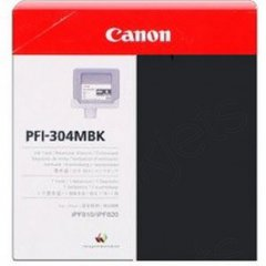 Canon PFI-304MBK Ink Cartridge, Matte Black, OEM