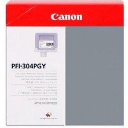 Canon PFI-304PGY Ink Cartridge, Photo Gray, OEM