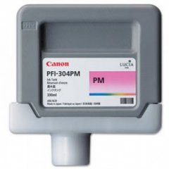 Canon PFI-304PM Ink Cartridge, Photo Magenta, OEM