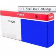 Canon PFI-704B Ink Cartridge, Blue, OEM