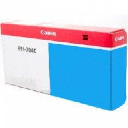 Canon PFI-704C Ink Cartridge, Cyan, OEM