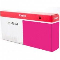 Canon PFI-704M Ink Cartridge, Magenta, OEM