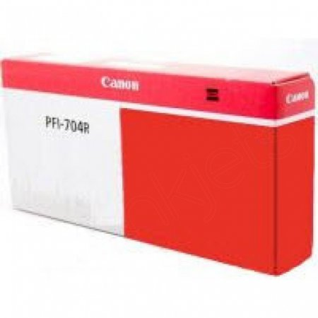 Canon PFI-704R Ink Cartridge, Red, OEM