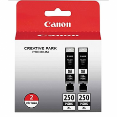 Original Canon PG250XL High Yield Black Ink