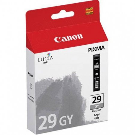 Canon 4871B002 (PGI-29) Ink Cartridge, Gray, OEM