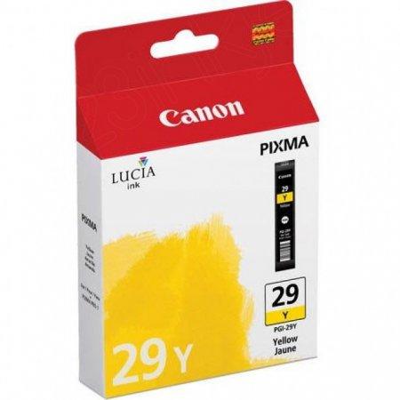 Canon 4875B002 (PGI-29) Ink Cartridge, Yellow, OEM