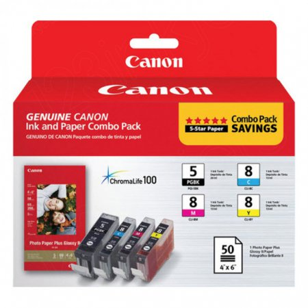 OEM Canon 0628B027 Ink Cartridge - Combo