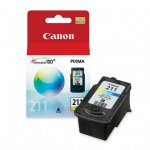 Canon CL-211 Inkjet Cartridge, Color, OEM