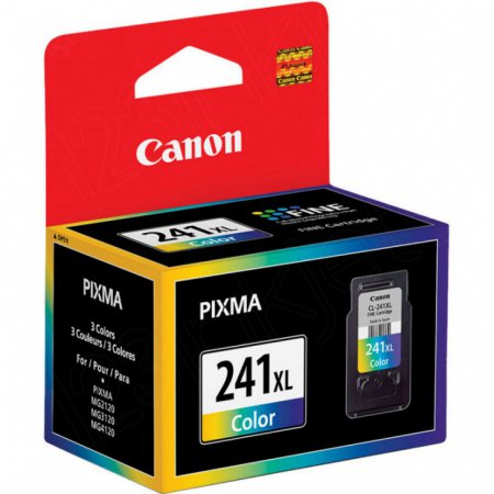Canon CL241XL Inkjet Cartridge, High Yield Color, OEM