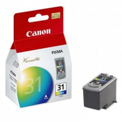 Canon CL31 Inkjet Cartridge, Color, OEM