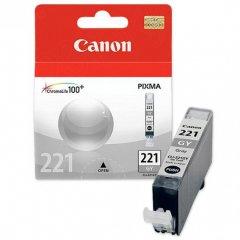 Canon CLI-221 Inkjet Cartridge, Gray, OEM