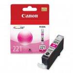 Canon CLI-221 Inkjet Cartridge, Magenta, OEM