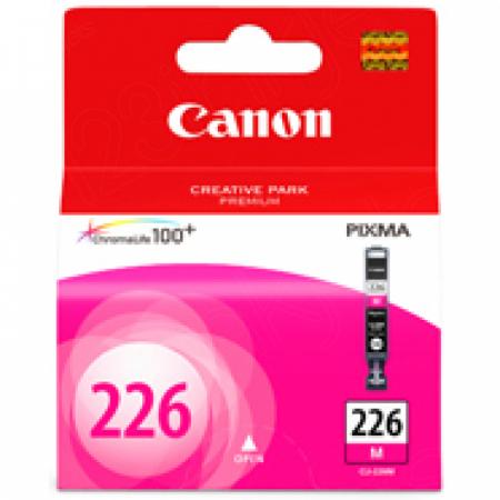Canon CLI226 Inkjet Cartridge, Magenta, OEM