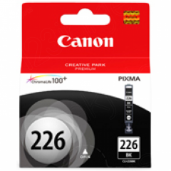 Canon CLI226 Inkjet Cartridge, Black, OEM