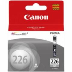 Canon CLI226 Inkjet Cartridge, Gray, OEM
