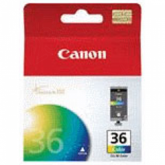 Canon CLI36 Inkjet Cartridge, Color, OEM