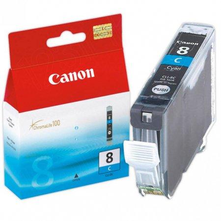 Canon CLI8C Inkjet Cartridge, Cyan, OEM