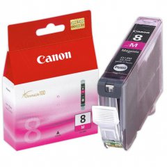 Canon CLI8M Inkjet Cartridge, Magenta, OEM