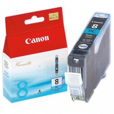 Canon CLI8PC Photo Inkjet Cartridge, Cyan, OEM