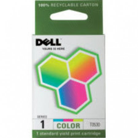 Dell 310-4143 (Series 1) Ink Cartridge, Color, OEM