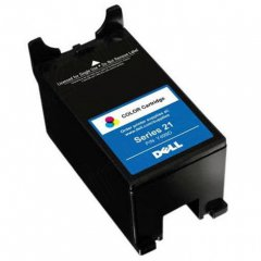 Dell Y499D (Series 21) Ink Cartridge, SY Color, OEM