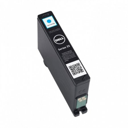 Dell 331-7378 (Series 33) Ink Cartridge, EHY Cyan, OEM