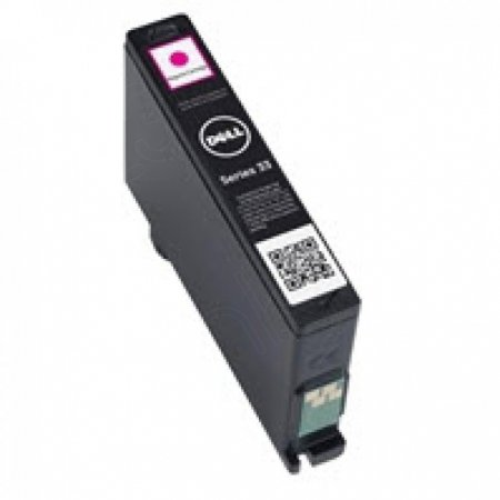 Dell 331-7379 (Series 33) Ink Cartridge, EHY Magenta, OEM