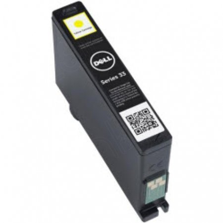 Dell 331-7380 (Series 33) Ink Cartridge, EHY Yellow, OEM