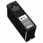 Dell T091N (Series 22) Ink Cartridge, Black, OEM