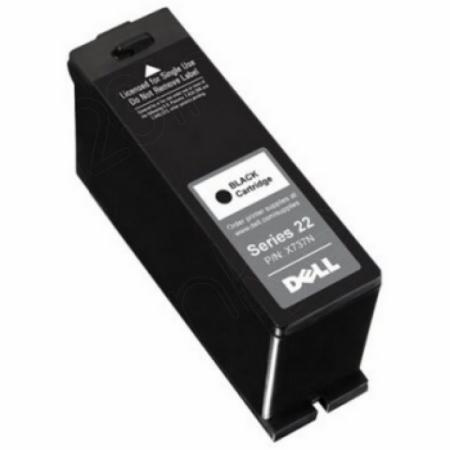 Dell T091N (Series 22) Ink Cartridge, Black, OEM