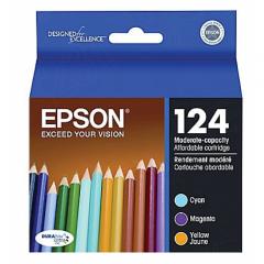 Original Epson 124 Color Ink