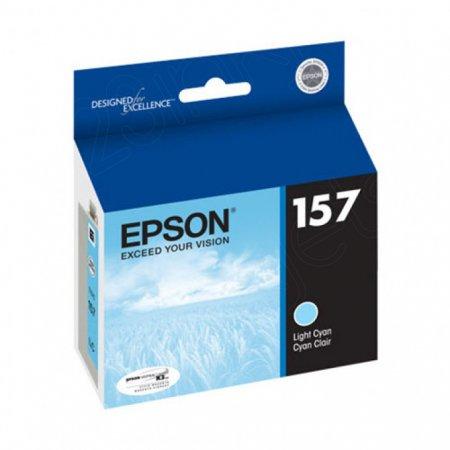 Epson T157520 (157) Ink Cartridge, Pigment Light Cyan, OEM