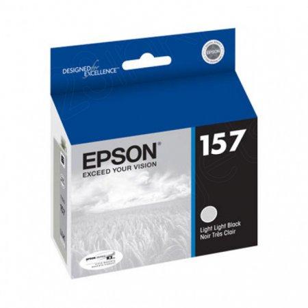 Epson T157920 (157) Ink Cartridge, Pigment Light Light Black, OEM