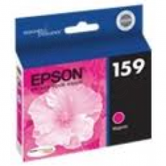 Epson T159320 (159) Ink Cartridge, Magenta, OEM