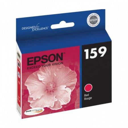 Epson T159720 (159) Ink Cartridge, Red, OEM