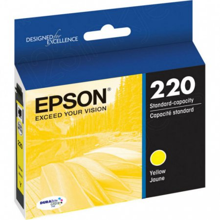 Epson Original 220 Yellow Ink