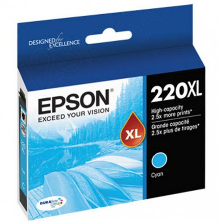 Epson Original 220XL Cyan Ink