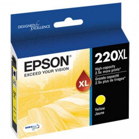 Epson Original 220XL Yellow Ink