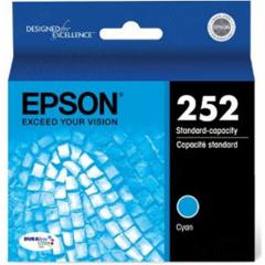 Epson T252220 (252) Ink, Cyan, OEM