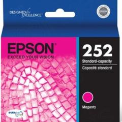 Epson T252320 (252) Ink, Magenta, OEM